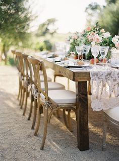 Table Decor -- Lace Runner