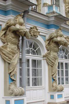 Catherine's Rococo Palace - Екатерининский дворец, Tsarskoye Selo (Pushkin), St. Petersburg, Russia. 2013