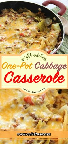 One-Pot Cabbage Casserole, This One-Pot Cabbage Casserole Recipe is a great fami. - One-Pot Cabbage Casserole, This One-Pot Cabbage Casserole Recipe is a great family dinner idea. Keto Foods, Ketogenic Recipes, Keto Recipes, Cooking Recipes, Healthy Recipes, Shake Recipes, Juice Recipes, Ketogenic Diet, Dessert Recipes