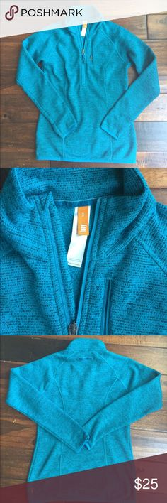 Lucy Pullover Jacket Lucy half zip Pullover jacket. Coast and stylus fabric. Lightweight warmth. Teal color. In good condition. No holes, tears or stains. Lucy Jackets & Coats