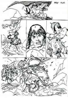 Loose layouts by Gil Kane