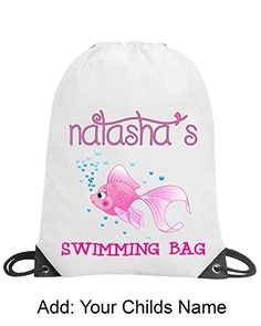 School College Gym Swimming Sleepovers *NEW* CAT or DOG Drawstring Bag