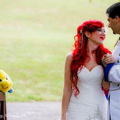 @Jessica Collin This Couple Really, Really Loves Disney | Photo Gallery - Yahoo! Shine.... this is nuts