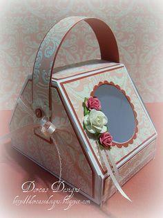 Dorcas Designs: Purse Box Tutorial in Inches http://dorcasdesigns.blogspot.com.au/2010/02/purse-box-tutorial-in-inches.html