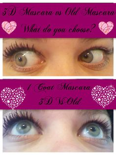 3D Vs Old Mascara. What do you choose?
