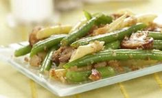 Beans and Mushrooms with Garlic Breadcrumbs