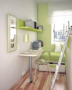 quartos para pequenos espaços