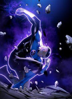 Green Lantern Corps, Blue Lantern, Green Lanterns, Dc Comics Heroes, Dc Comics Art, Marvel Dc Comics, Cosmic Comics, Comic Book Artists, Comic Books Art