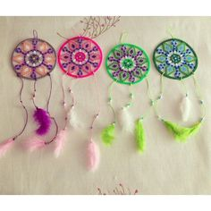 Dreamcatchers hama beads by mir_yus