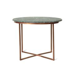 Buy the Green Large Olivine Side Table at Oliver Bonas. We deliver Furniture throughout the UK within working days from Green Marble, Marble Top, Oliver Bonas, Dark Colors, New Homes, Dining Room, Decor Ideas, Play, Interior Design