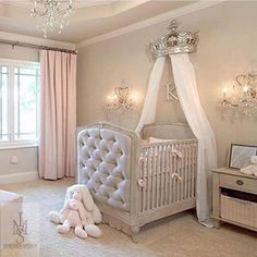 Baby bedroom elegant.. Home decoration Custom made | Furniture | Decoration Ideas | 3D design |  misdesignlb@gmail.com #furniture #accessories #chandelier #interior #instagram #instalike #instdecor #homedecor #ديكورات #interiors #interiorblog #interiordesign #architecture #luxury #beautiful #londondesigner #beirutdesigners #beirut #beirutstyle #ديكور #london #lebanesedesigners #design #instadaily #inspiration #lightning #livingroom #likeforlike #designer #decorations