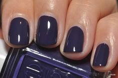 FALL | navy polish