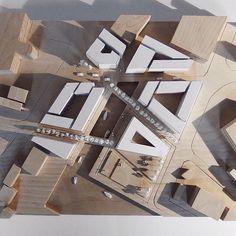 Ideas For Road Landscape Design Lights Architecture Design, Concept Architecture, School Architecture, Landscape Architecture, Chinese Architecture, Landscape Model, Landscape Design, Landscape Art, Urbane Analyse