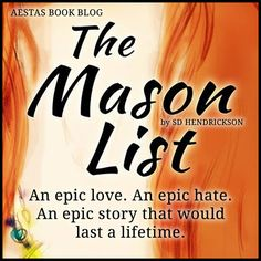 The Mason List by SD Henrickson (5 STARS!!)
