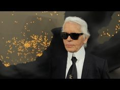 """""""...where people love French fashion, and people adore Chanel..."""" : Karl Lagerfeld's interview - Fall-Winter 2013/14 Ready-to-Wear CHANEL show"""