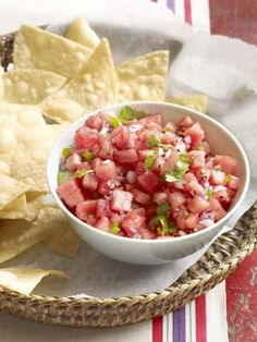 How to make this unique zesty watermelon salsa.