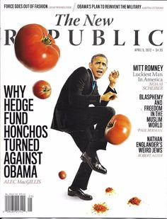 The New Republic magazine Barack Obama and hedge funds Mitt Romney Muslims