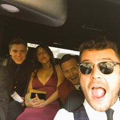Ryan, Daisy Dan & Danny en route to the BSA's