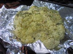 Our Family Loves Grilled Cauliflower!  The boys even eat it!!  It is sooo good!!