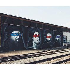 Clever street art by @owendippie #owendippie #dcngraffiti #dcnart #LMDR #TMN