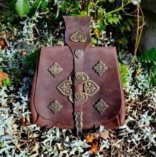 #Replica of a #viking #purse based on a #historical #find from #Birka / Björkö in #Sweden - available on www.peraperis.com - 64.99 €