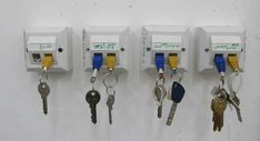 RJ45 keychain.  This is a great idea for all that leftover electronic gizmo stuff!