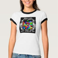 Funny Video Game Level Up Nerdy Motivational T-Shirt