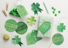 Celebrate St. Pat's Day in style with these lucky lovelies! You'll be blessed with the luck o' the Irish all day with our St Patrick's Day Lucky Printables!
