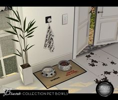 Bruno Collection Pet Bowls at Daer0n – Sims 4 Designs • Sims 4 Updates