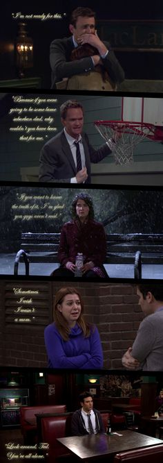 Defining sad moments... How I Met Your Mother #himym