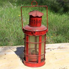 Vintage Red Lantern  #forevervintagerentals