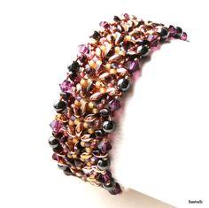 Télécharger tutoriel perles Moncef perles Bracelet par SashaSi