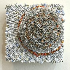 Jaynie Crimmins, made from junk mail
