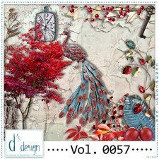 Vol. 0057 - Autumn Mix  by Doudou's Design  #CUdigitals cudigitals.com cu commercial digital scrap #digiscrap scrapbook graphics