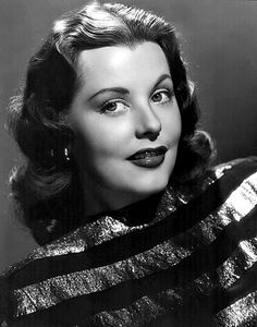 Arlene Dahl 1946.  Some of her films include: Reign of Terror (1949), Three Little Words (1950), Woman's World (1954), Slightly Scarlet (1956), and Journey to the Center of the Earth (1959). Mother of Lorenzo Lamas.