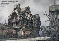 ArtStation - Queens Inn, Jake Zetter