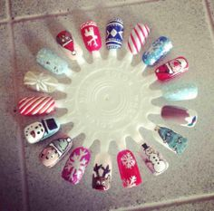 Christmas Nail Art-let's see your pics! - Page 16 - Salon Geek