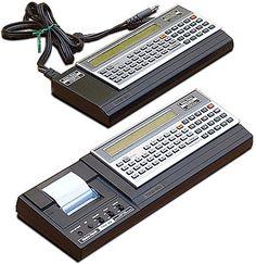 Radio Shack TRS-80 Pocket Computer | Criação de Sites |  Construção de Sites | Web Design | Manutenção | SEO | Portugal | Algarve - http://www.novaimagem.co.pt