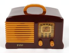 Another FADA radio. These were actually made from Catlin......another popular plastic from back when.