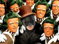 Willy Wonka and the Chocolate Factory is better with Batman.