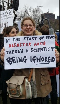 One of my favorite #MarchForScience posters. via Mikel Jollet on twitter