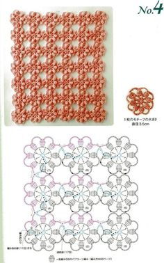 Crochet Butterfly Stitch - Chart