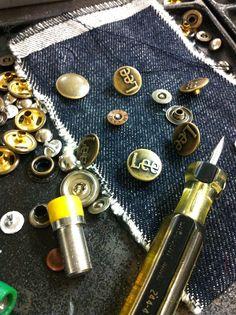 Shanks & rivets. Lee jeans