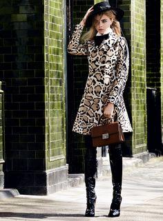 Cara Delevingne, Josh Nickerson & Matthew Whitehouse by Mario Testino for Vogue US July 2014 5