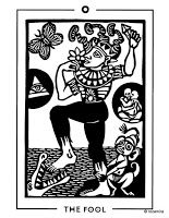 THE FOOL - The Light and Shadow Tarot