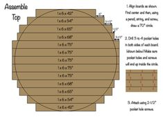 70 Inch Round Table Top Diy Dining