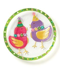 Take a look at this Chicks Plate by DEMDACO on #zulily today!