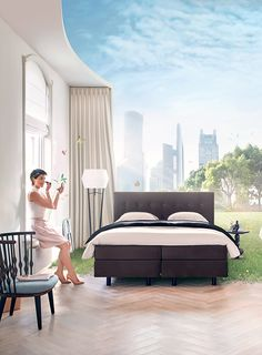 Auping Beds 'Waking up Fresh' on Behance