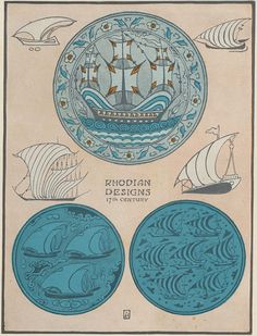Nautical Graphics: A Sampler of Graphic Ships