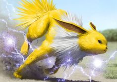 Jolteon by dekunobou-kizakura.deviantart.com on @DeviantArt